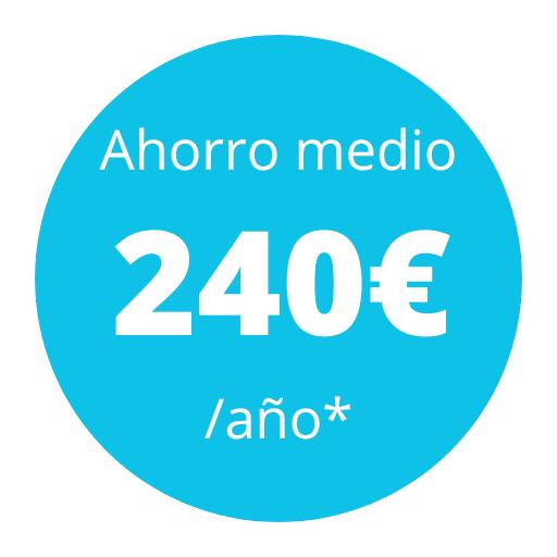 banner ahorro medio 240 euros